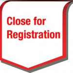 Close for registration