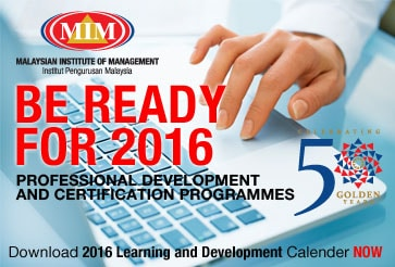 Learning development calender 2016