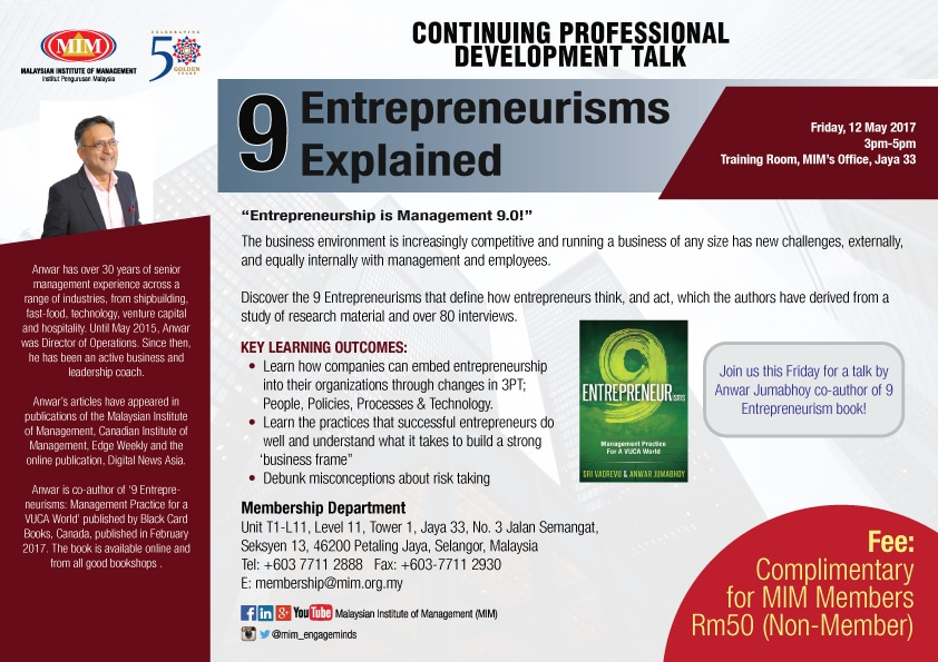 9-Entrepreneurisms-Explained