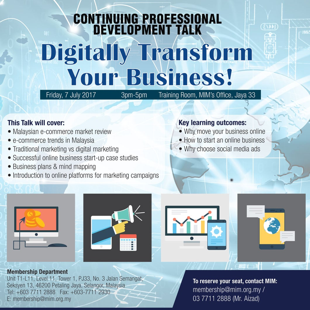 Digitally Transform Your Business!