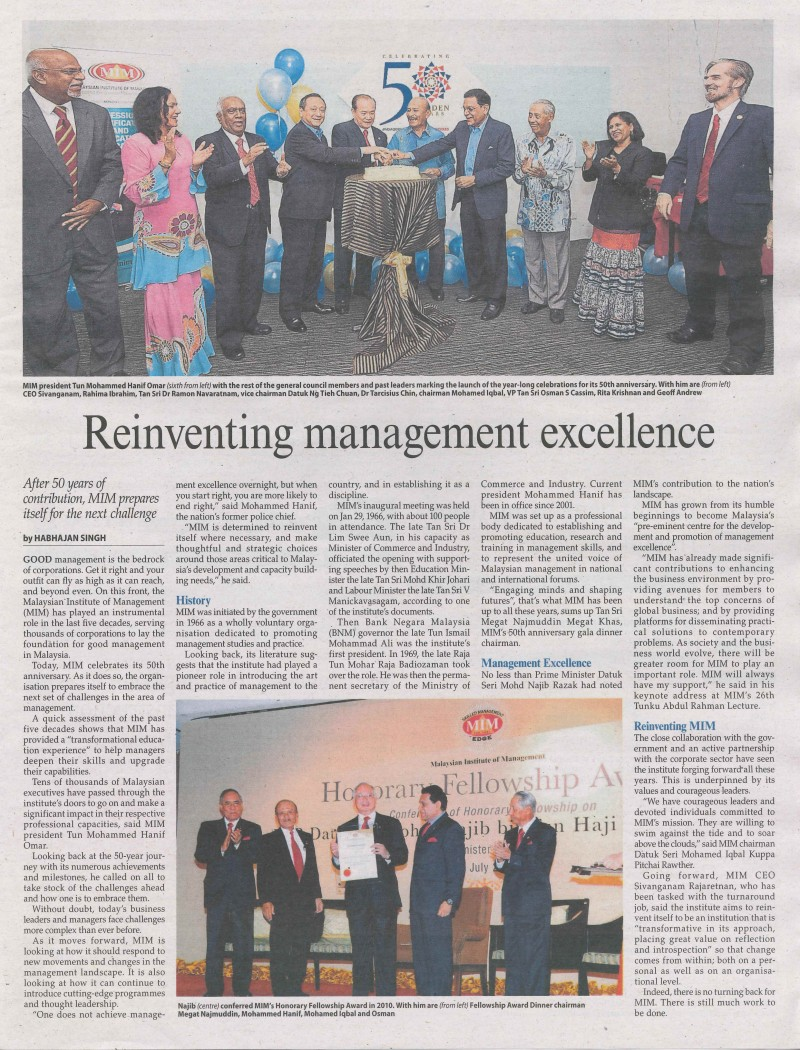 Management news 20-4-2016