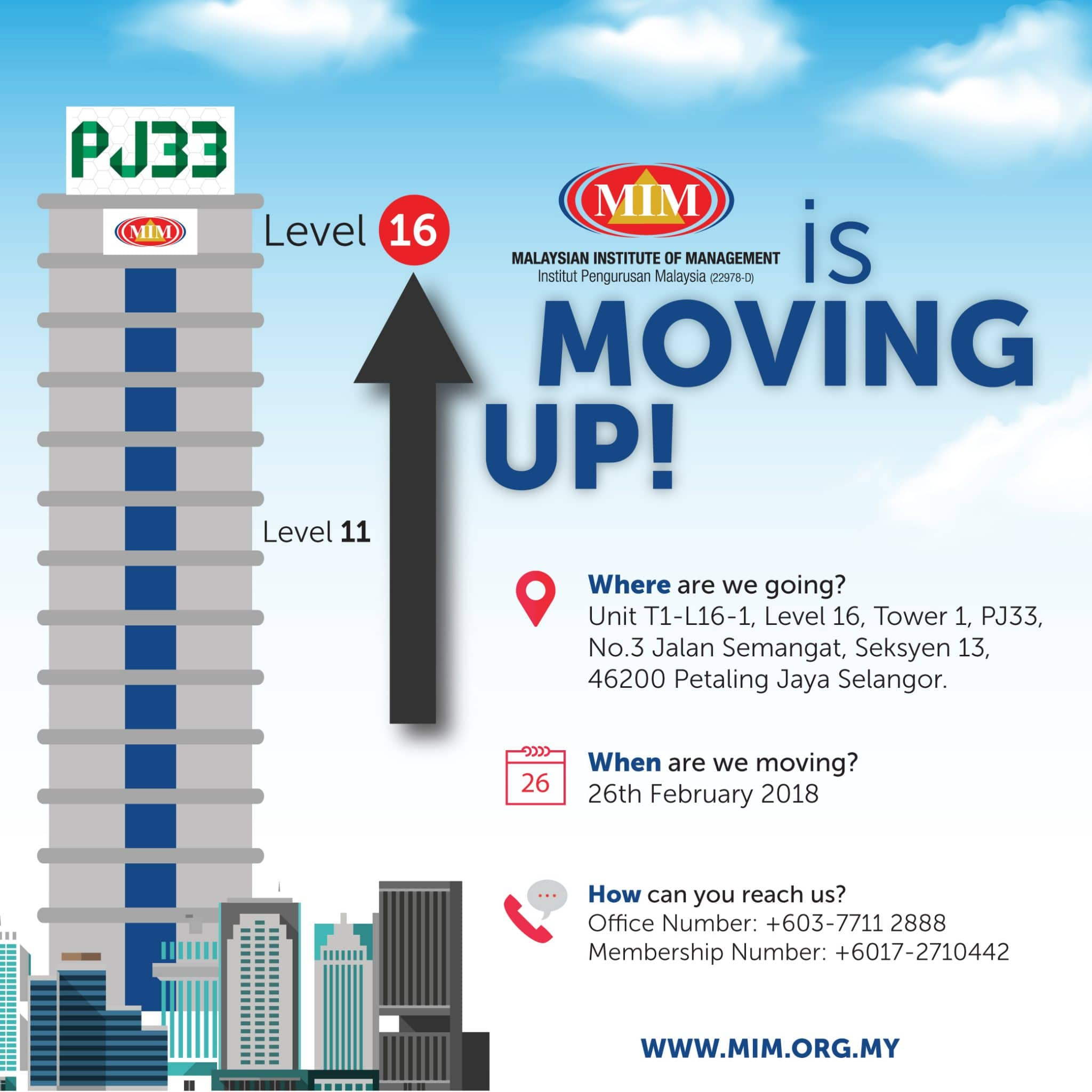 We are moving UP! MIM (21 Feb, 2018)