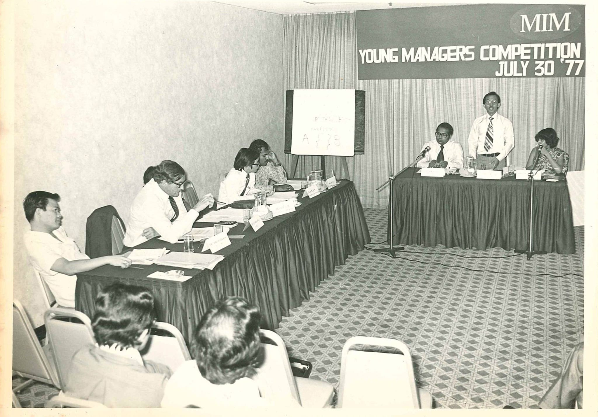 Young-managers-Competition-1977