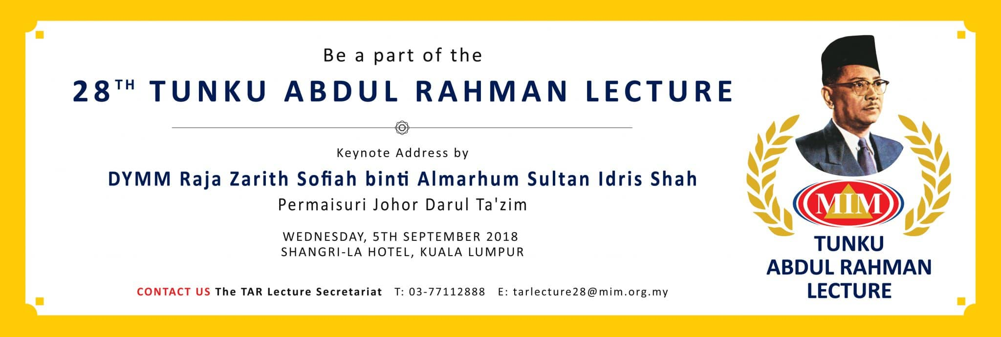 28th-TAR-Lecture-2018