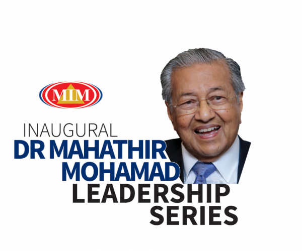 Tun M to launch Life-Changing Conversations on Leadership